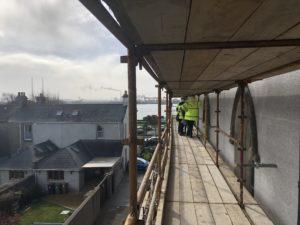 Work on external walls